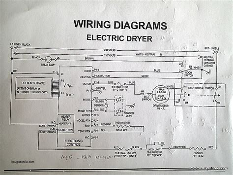 roper dryer thermal fuse schematic wiring diagrams