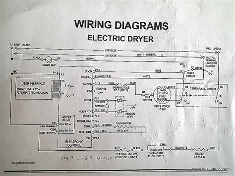 roper dryer diagram roper dryer thermal fuse schematic wiring diagrams