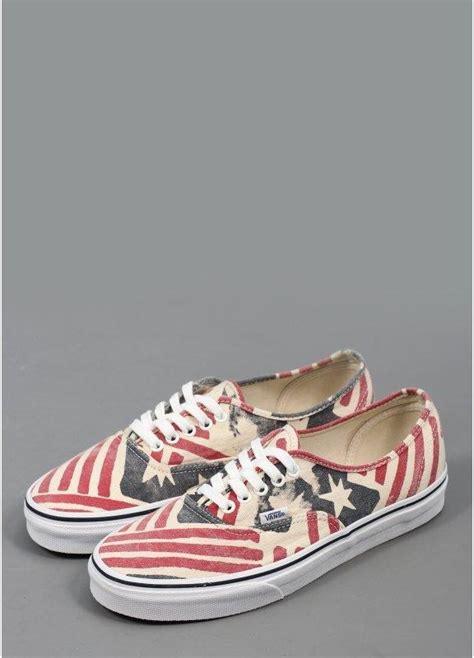 vans authentic doren usa shoes retro flag