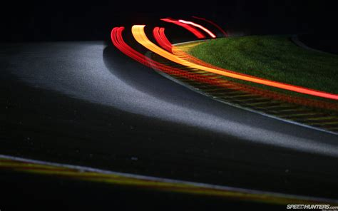 Car Lights Wallpaper Lights Timelapse Race Track Light Hd Wallpaper