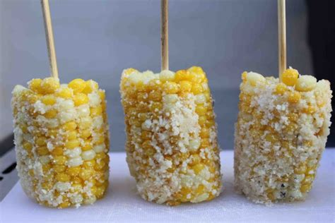 corn on a stick cheesy corn on a stick cooking with my kid
