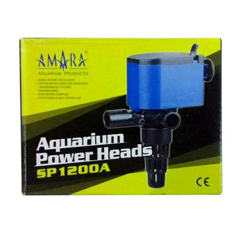 Power Heads Sp 1200a Jual Amara Sp 1200a Aquarium Powerhead Pompa Akuarium