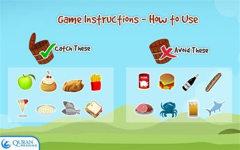 catch  halal kids game