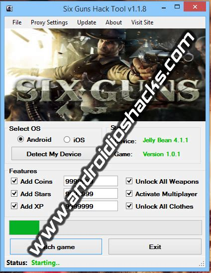 six guns mod game free download six guns hack tool v1 1 8 updated march 2014 rex hack