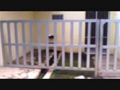 membuat rumah dari baja ringan kreasi unik pagar besi dari baja ringan youtube