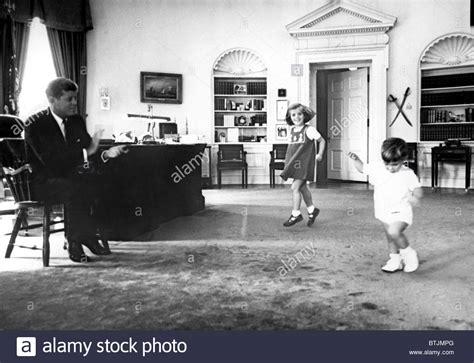 kennedy oval office f kennedy in oval office with children caroline