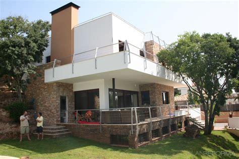 porche jardin porche exterior jardin style moderno color marron blanco