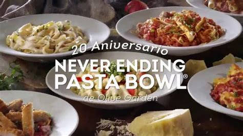 Olive Garden Pasta Bowl by Olive Garden Never Ending Pasta Bowl Tv Commercial