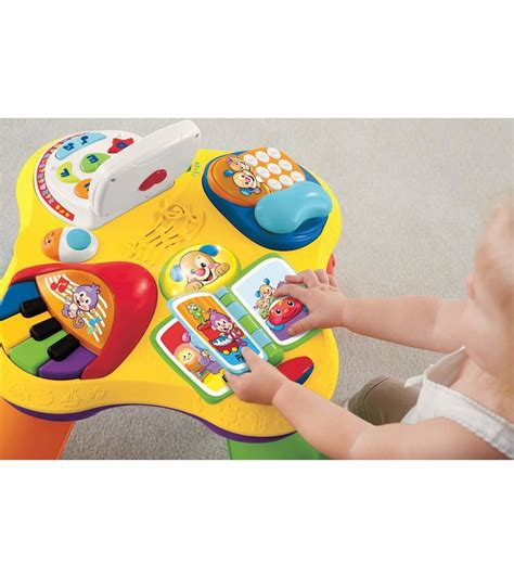 fisher price laugh and learn puppy table fisher price puppy friends learning table