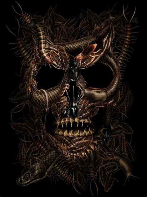 imagenes calaveras satanicas demon mort vivant page 7