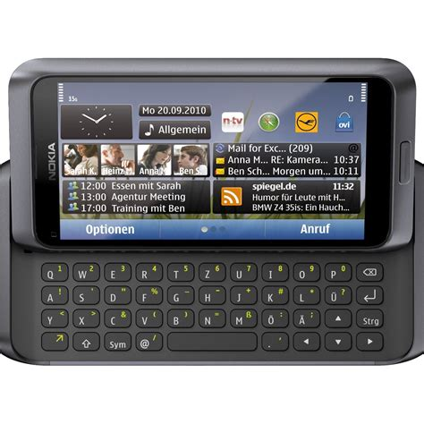 hd themes for nokia e7 00 kommunikation nokia e7 slider smartphone mit symbian 3 os