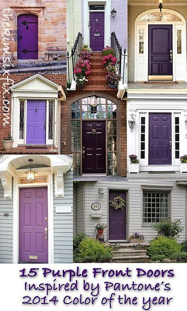 Color Trend 2014 Radiant Orchid 15 Beautiful Exterior | 17 best images about color trends for 2014 on pinterest