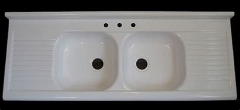 Reproduction Kitchen Sinks Reproduction 1940s 1950s Farmhouse Drainboard Sink Now Available Big News Retro Renovation