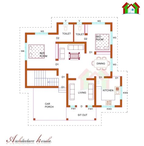 single floor house plans architecture outstanding 1200 sq ft house plans modern 3d arts house plans kerala 1200 sq ft pics house