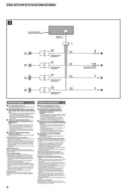 sony cdx l550x wiring diagram sony cdx l510x wiring
