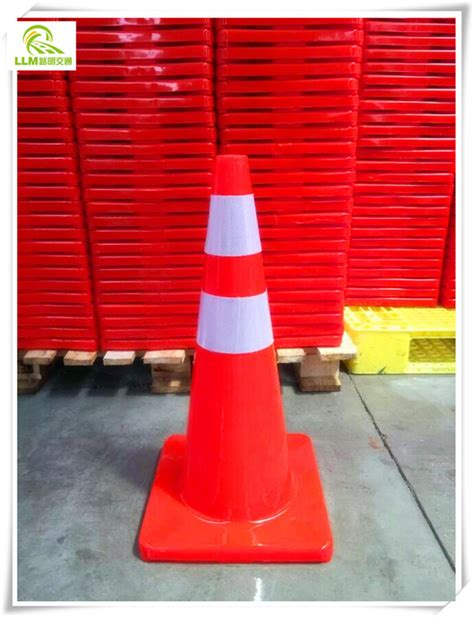 wholesale soft pvc flexible and reflective traffic safety