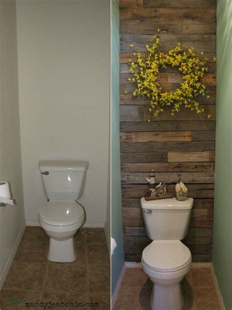 wood accent wall bathroom real bathroom makeover on pinterest vanities wood