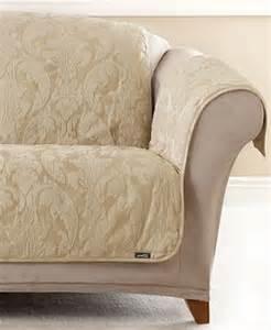 sure fit matelasse damask pet sofa slipcover slipcovers