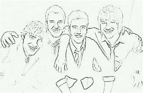 free coloring pages of dibujos de big time rush