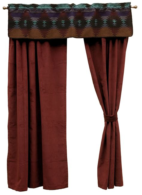 southwestern curtains painted desert drapes painted desert southwestern bedding
