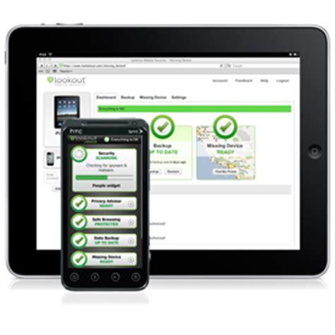 lookout mobile security iphone une application pour prendre en photo les voleurs de