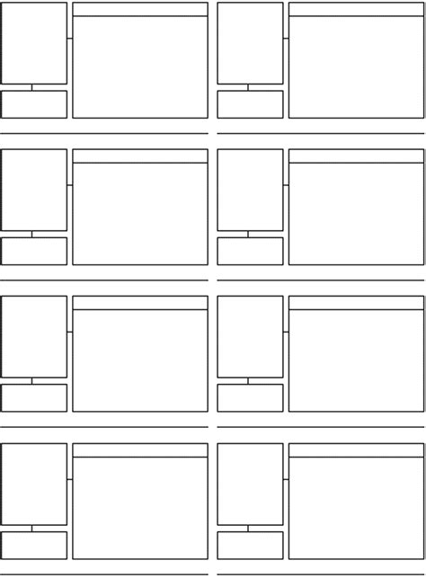 storyboard sle in word 163 free templates for filmmakers part 1 pre production