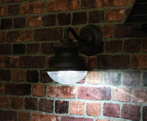 outdoor solar lights amazon amazon com gama sonic barn solar outdoor led light