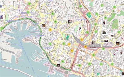 mappa porto di genova genova in una mappa il tributo agli angeli fango
