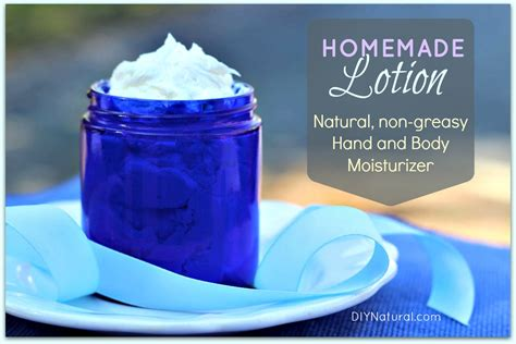 Handmade Lotion Recipe - lotion a and moisturizer recipe