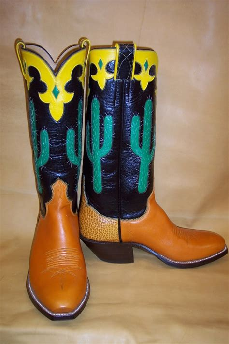 Handmade Custom Boots - mike vaughn handmade boots 187 quality in every pair
