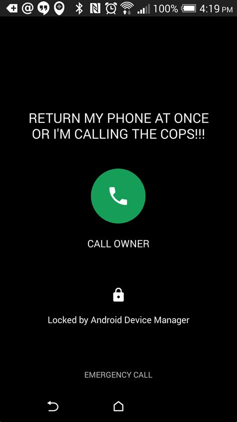 android device manger android device manager adds call back button on the lockscreen