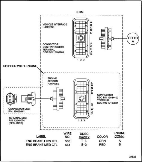 ddec 2 wiring diagram ddec get free image about wiring