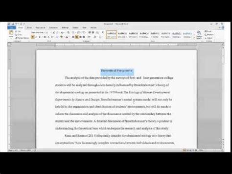 section headings apa using headings and subheadings in apa formatting youtube