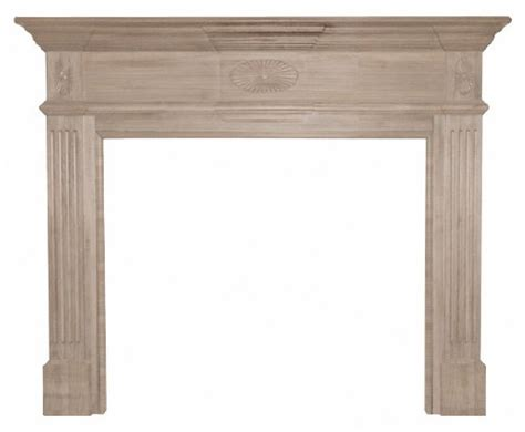 Unfinished Wood Fireplace Mantels by Antique Wood Mantel Pearl Mantels 128 50 Hickory
