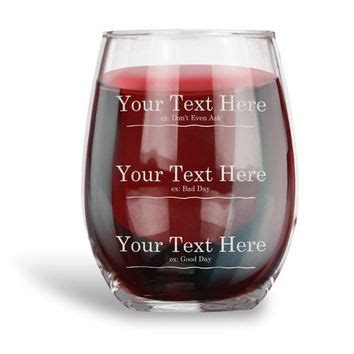 personalized funny wine glasses products  wanelo