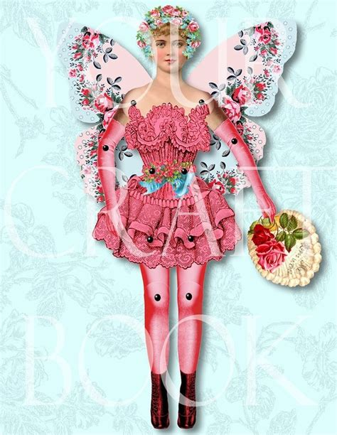 vintage paper doll digitial download by yourcraftephemera 456 b 228 sta bilderna om quot vintage paper toys quot and paper dolls