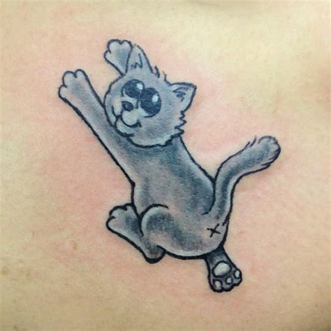cartoon cat tattoo cat oldies by tokmakhan on deviantart