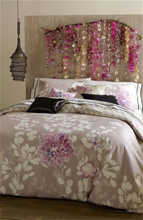 How To Hang A Headboard On The Wall by Branches Hanging Decorations And Headboards On