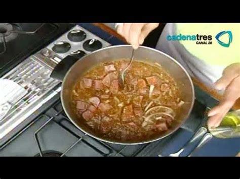 recetas de cocina mexicana faciles y rapidas receta de lengua entomatada recetas de comida f 225 ciles y