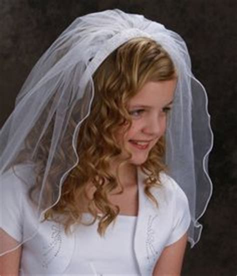 communion hairstyles with headband veil 1000 images about first communion on pinterest first