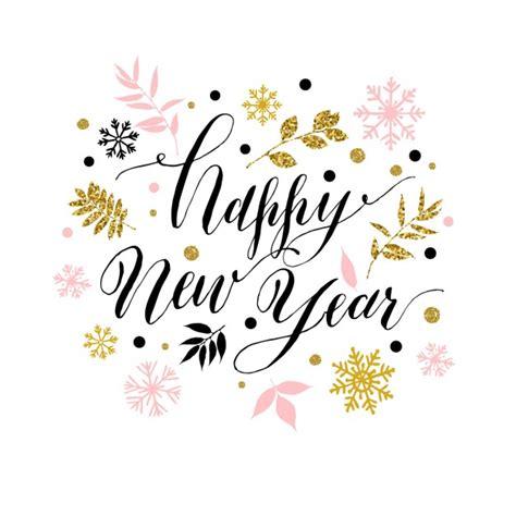 white new year gelukkig nieuwjaar wenskaart vector gratis