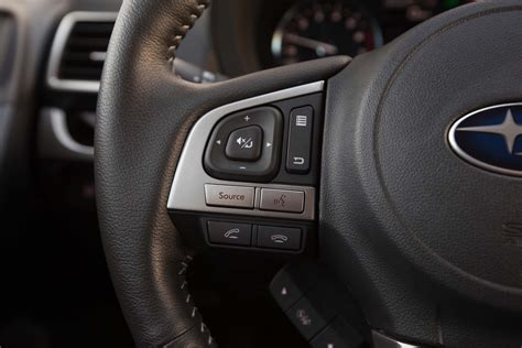 subaru forester steering wheel 2017 subaru forester 2 0xt touring first test review