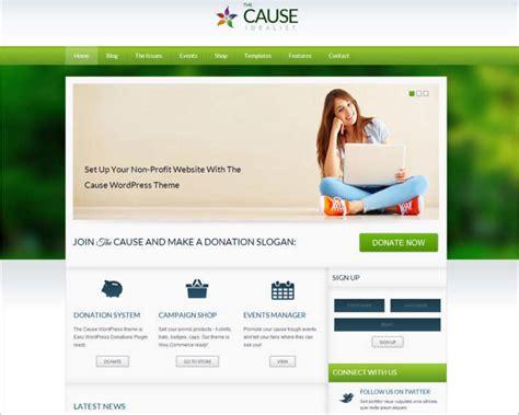 Non Profit Html Website Templates Free Premium Non Profit Websites Templates