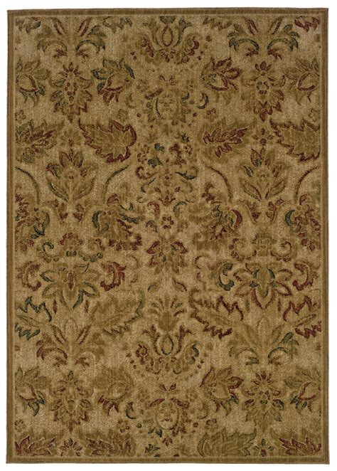 10 X12 Area Rug by 10 X13 Sphinx Floral Beige Leaves Vines 057b1 Area Rug Aprx 9 10 Quot X 12 9 Quot Ebay