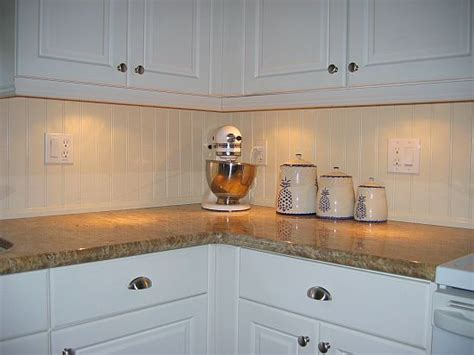 wainscoting kitchen backsplash beadboard backsplash beadboard is a traditional architectural feature that includes delicate