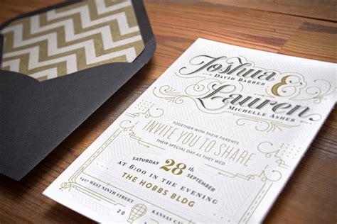 where to get wedding invitations printed 20 smashing exles of customized printed wedding