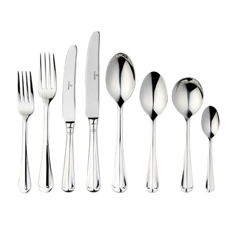 Christmas Table Settings viners rattail 58 piece cutlery set oos tableware palmers