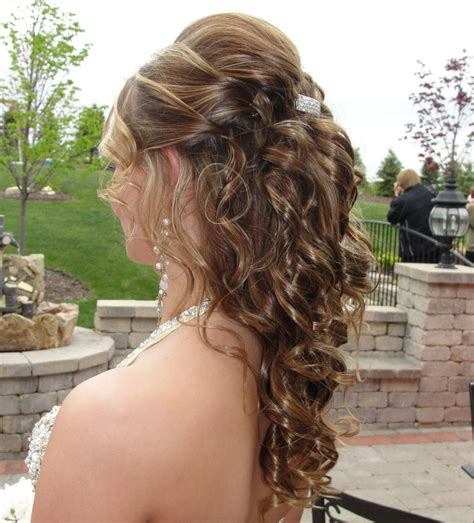 graduation hairstyles half up half down prom hairstyles for short hair down haircuts