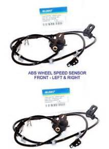 2 abs wheel speed sensor front left right for 2001 2006