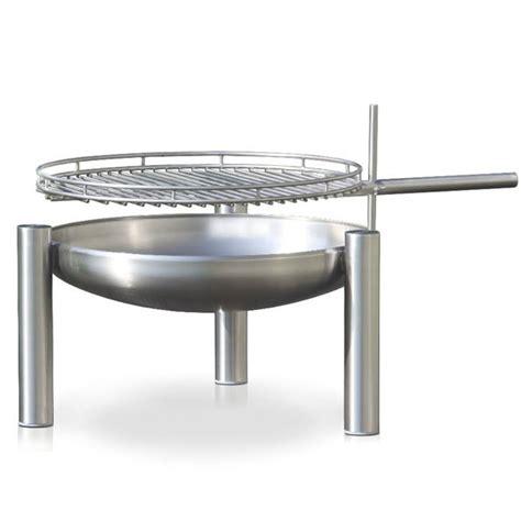 Feuerschale Mit Grillfunktion by Ricon Feuerschale Mit Grillfunktion Edelstahl 70cm